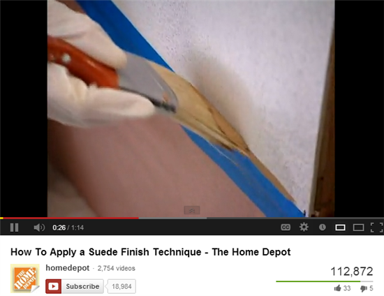 Home Depot provides how-to videos to offer value to social fans.